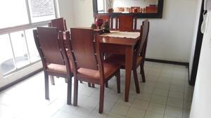 Juego de sala usado colonial barato posot class for Comedor completo moderno barato