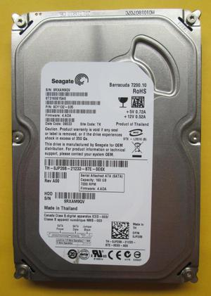 Seagate 160gb Sata para PC vendo o cambio x DD160gb portatil