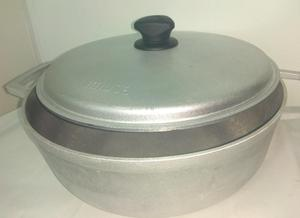 caldero IMUSA antiherente con tapa aluminio