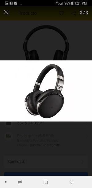 Audífonos Sennheiser Hd 4.50 Bluetoth