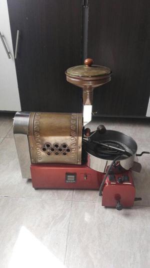Maquina para tostar café y molino
