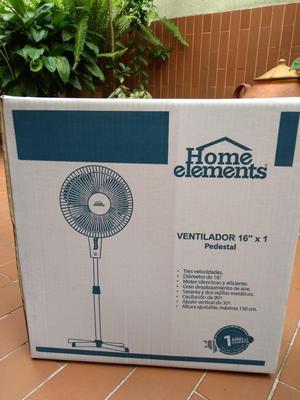 Ventilador de Pedestal Home Elements