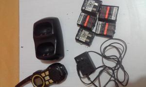 vendo radio con cargador y sus baterias