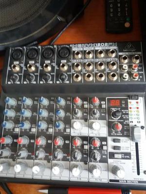 Microfono Condensador Behringer Y Mixer