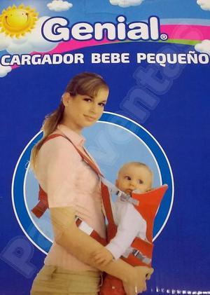 Canguro Porta Bebés Cargador Fular Carrier Ergonómico