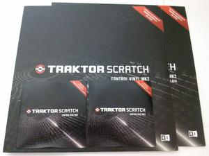 2 Vinilos 2 Cd's Traktor Scratch Mk2 Timecode Nuevos para