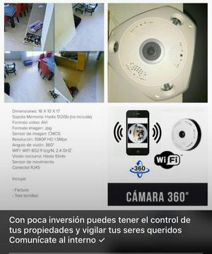Cámara de Seguridad 360