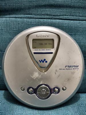 Discman Sony Mp3 Am Fm