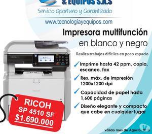 Fotocopiadora RICOH SP  SF Oferta