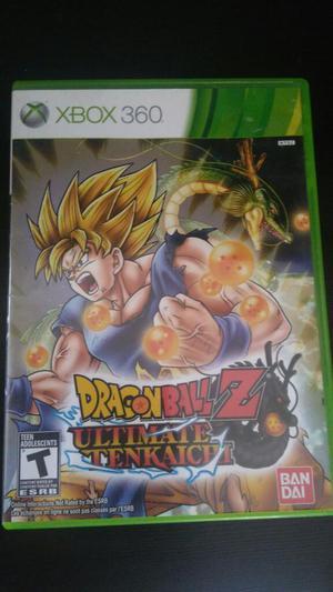 Dragon Ball Z Ultimate Tenkaichi Xbox 360 Cambio o Vendo