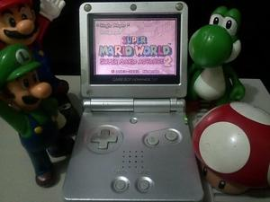 Hermoso nintendo gba gameboy advance sp con cargador