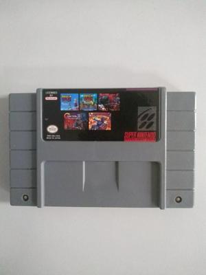 Multijuegos Para Super Nintendo Snes 5 En 1
