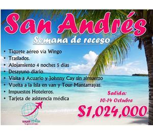 Semana de receso San Andrés