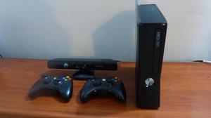 XBOX 360 SLIM 2 CONTROLES Y KINECT