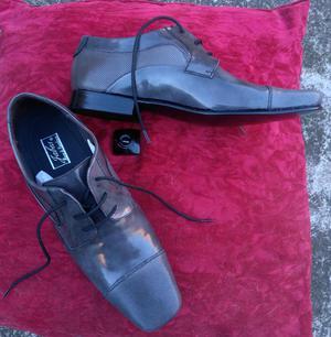 zapato formal en cuero talla 40