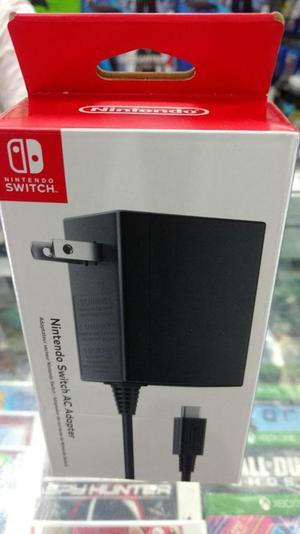 Adaptador de Corriente Nintendo Switch Original. Nuevo