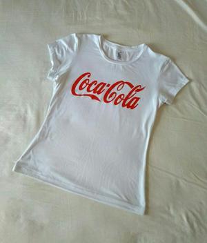 Blusa Mujer Coca Cola Estampada
