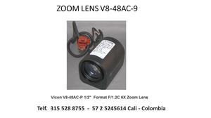 Circuito cerrado de TV VICOM zoom lente y repuestos