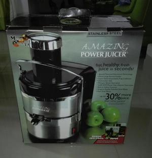 Extractor De Jugos Amazing Power Juicer