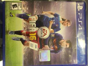 FIFA 16 PS4 EN PERFECTO ESTADO