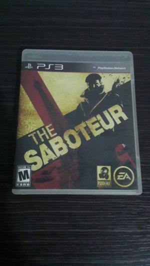 The Saboteur para Ps3 Perfecto Estado