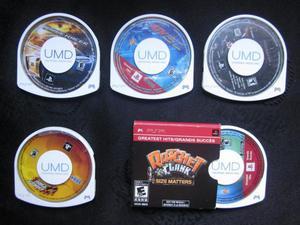 vendo cambio juegos originales de Psp formato umd