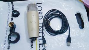 Microfono De Condensador Usb Para Grabar Desde El Pc / C1u