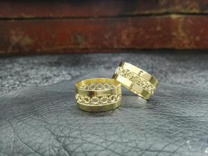 Argollas de Matrimonio en Oro de 18 Kts
