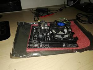 Combo Core i3 4ta Generación/ Board Asrock H81M/ Core i3