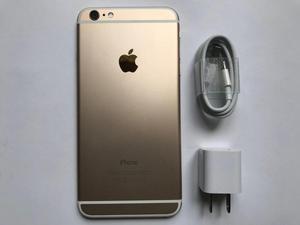 iPhone 6 Plus 64Gb Dorado Como Nuevo 100 Funcional