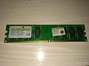 memoria ram para PC de escritorio de 2 GB DDR2 Markvision.