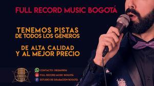 Pistas Musicales desde Bogota envio gratis a cualquier parte