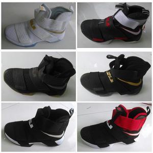 Botas Botin Nike Lebron Soldier 9 Hombre