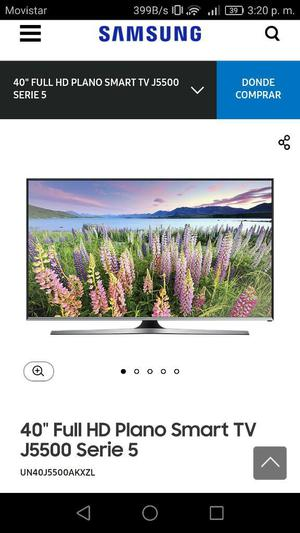 Vendo O Cambio Tv Samsung Smart Tv