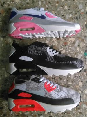 Zapatillas Nike Airmax 90 Mujer Flyknit