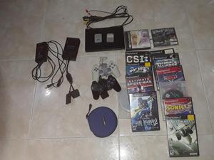 Play Station 2 Usada con Dos Controles