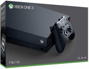 Xbox one X 1TB Nuevo sellado/NO CAMBIOS
