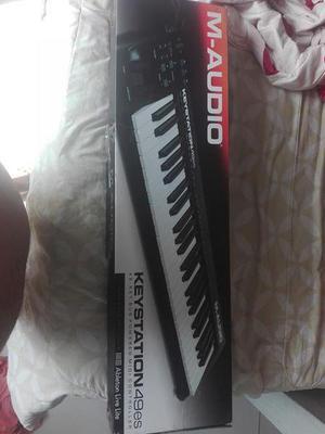Teclado MIDI MAudio Keystation 49es