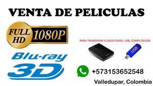 Ventas de Peliculas Digitales, Directo a tu USB