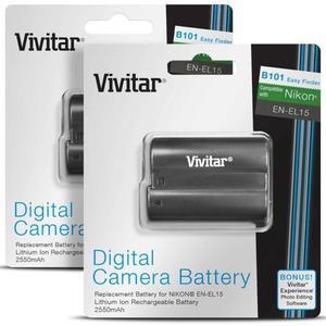 Bateria Vivitar En El 15 de  mAh Para D D D