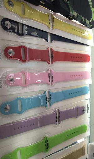 Pulsos para Apple Watch 42 Y 38 Plugadas