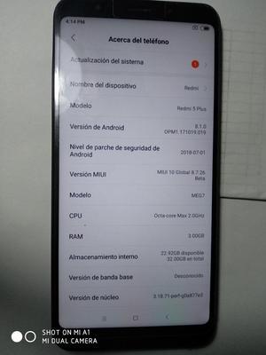 Vendo Xiaomi Redmi 5plus para Reparar O