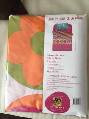 Vendo Juego de Cama Cover Duvet Nuevo