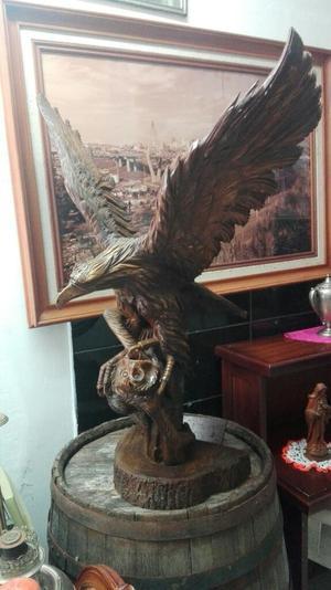 Aguila en Madera