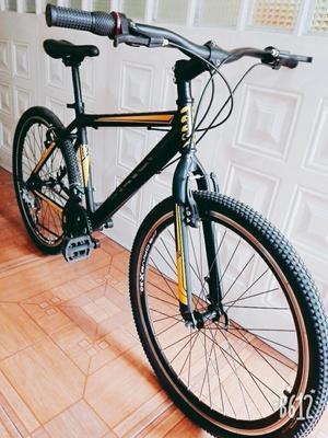 Espectacular Bici Cambios Tipo Moto
