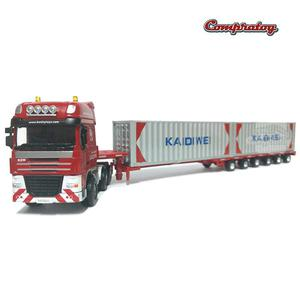 Low Bed Transporter Kaidiwei Die cast Ref.  Escala: