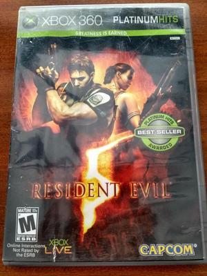 Juego Resident Evil 5 Xbox 360 Original