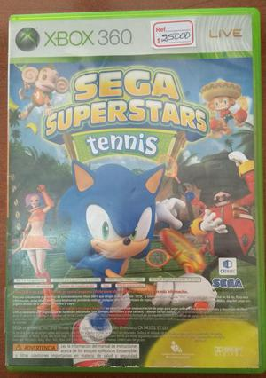 Juego Sega Superstars Tennis Xbox 360 Original