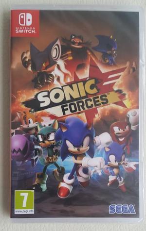 Juego Sonic Forces Nintendo Switch nuevo y sellado