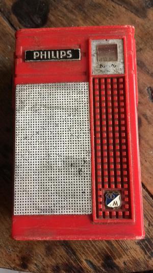 Radio Antiguo Philips Pequeño